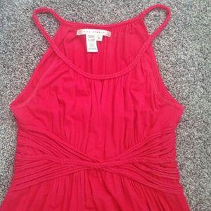 Hot pink/fuscia colored dress